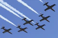 Equipe de Breitling Fotografia de Stock