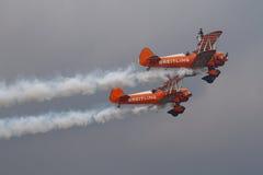 Equipe de Brietling Wingwalkers Fotografia de Stock