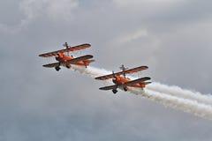 Equipe de Brietling Wingwalkers Fotos de Stock