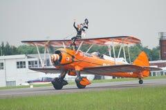 Equipe de Brietling Wingwalkers Foto de Stock