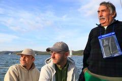 Equipe de competência do barco da navigação Foto de Stock Royalty Free