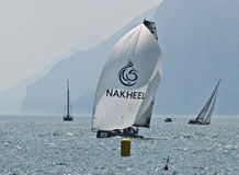 Equipe de Dubai do mar Fotografia de Stock Royalty Free