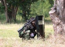 equipe de esporte da pistola pneumática Imagem de Stock Royalty Free