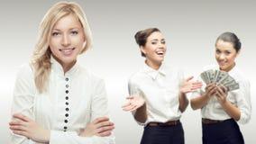 Equipe de executivos bem sucedidos novos Imagens de Stock Royalty Free