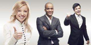 Equipe de executivos bem sucedidos novos Fotos de Stock