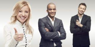 Equipe de executivos bem sucedidos novos Imagem de Stock