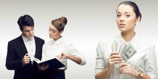 Equipe de executivos bem sucedidos novos Fotografia de Stock Royalty Free