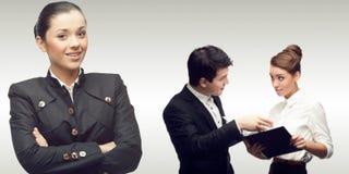 Equipe de executivos bem sucedidos novos Fotografia de Stock