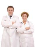 Equipe de funcionários médica Foto de Stock Royalty Free