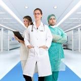 Equipe de funcionários médica Fotos de Stock Royalty Free