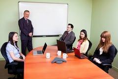 Equipe de funcionários Unmotivated Imagem de Stock