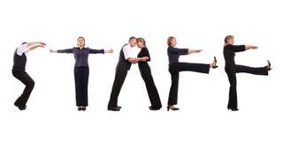 Equipe de funcionários Imagem de Stock Royalty Free