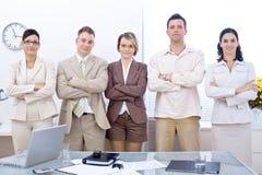 Equipe de funcionários do negócio Foto de Stock