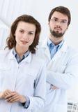 Equipe de funcionários médica Fotografia de Stock
