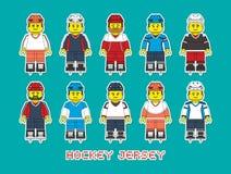 Equipe de futebol 1 Ilustração Stock