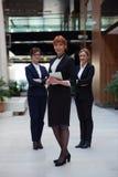 Equipe de mulher do negócio Fotografia de Stock