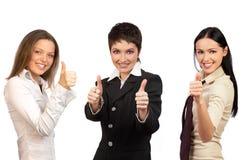 Equipe de mulher do negócio Imagem de Stock
