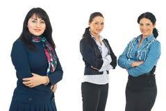 Equipe de mulheres do negócio Fotos de Stock