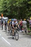 Equipe de Procycling do céu Imagens de Stock Royalty Free