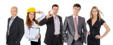 Equipe de sorriso feliz do negócio Imagens de Stock