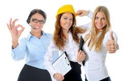 Equipe de sorriso feliz do negócio Imagem de Stock