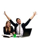 Equipe de vencimento Imagem de Stock Royalty Free