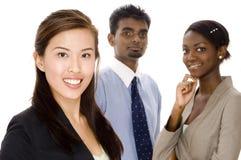 Equipe dinâmica do negócio Fotografia de Stock Royalty Free
