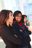 Equipe diversa do negócio da mulher Fotografia de Stock