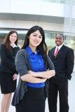 Equipe diversa do negócio no escritório imagem de stock royalty free