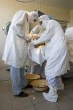 Equipe do cirurgião Imagem de Stock