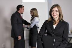 Equipe do escritório Imagem de Stock Royalty Free