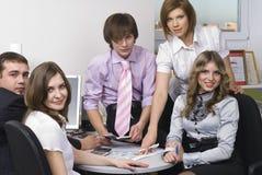 Equipe do escritório Imagens de Stock Royalty Free