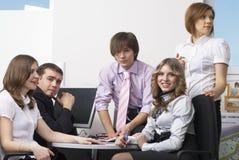 Equipe do escritório Fotografia de Stock