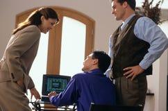 Equipe do escritório Imagens de Stock