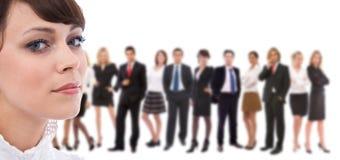 Equipe do grande negócio Fotos de Stock