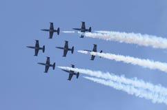 Equipe do jato de Breitling Imagens de Stock Royalty Free
