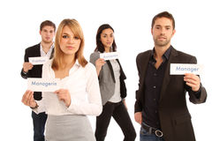 Equipe do negócio Fotos de Stock