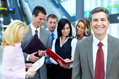 Equipe do negócio. Imagem de Stock