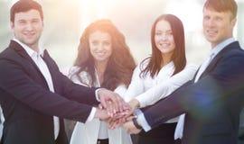 Equipe do negócio a cooperar no trabalho na empresa fotografia de stock royalty free