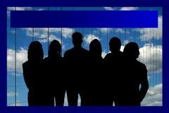 Equipe do negócio de mundo Foto de Stock Royalty Free