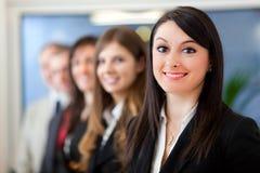 Equipe do negócio: grupo de empresários foto de stock