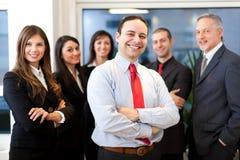 Equipe do negócio: grupo de executivos foto de stock royalty free