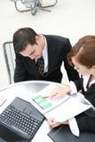 Equipe do negócio no escritório Foto de Stock Royalty Free