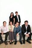 Equipe do negócio - urbana Fotografia de Stock Royalty Free