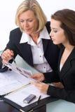 Equipe do negócio em uma reunião Imagens de Stock Royalty Free