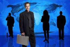 Equipe do negócio global Foto de Stock