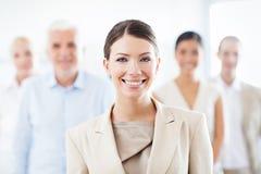 Equipe do negócio para o sucesso Fotografia de Stock Royalty Free