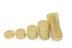 A equipe do ouro continua a aumentar Imagem de Stock