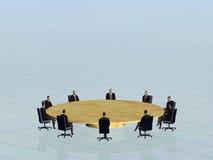 A equipe do sucesso na conferência. Imagens de Stock