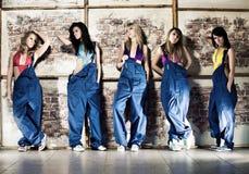 Equipe do trabalhador de mulheres Imagens de Stock